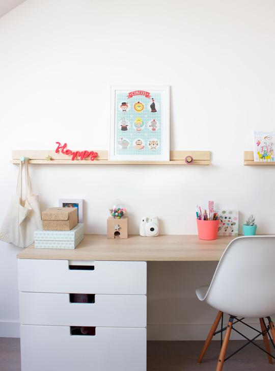 niedrogie biurko pomys y i inspiracje hohonie bloguj. Black Bedroom Furniture Sets. Home Design Ideas