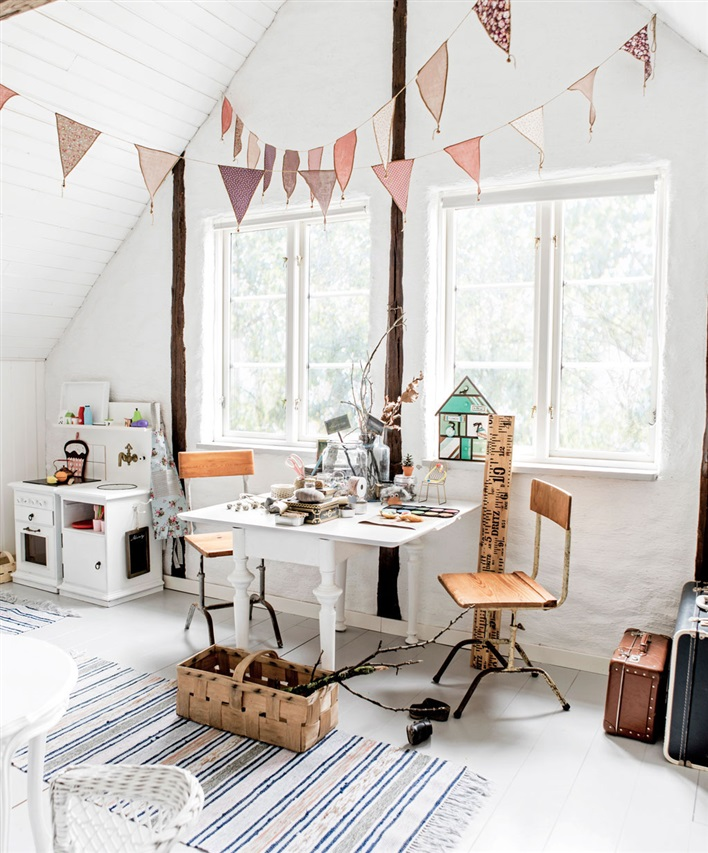 Vintage Kids Room: Pokój W Stylu Vintage • Hohonie Blogują