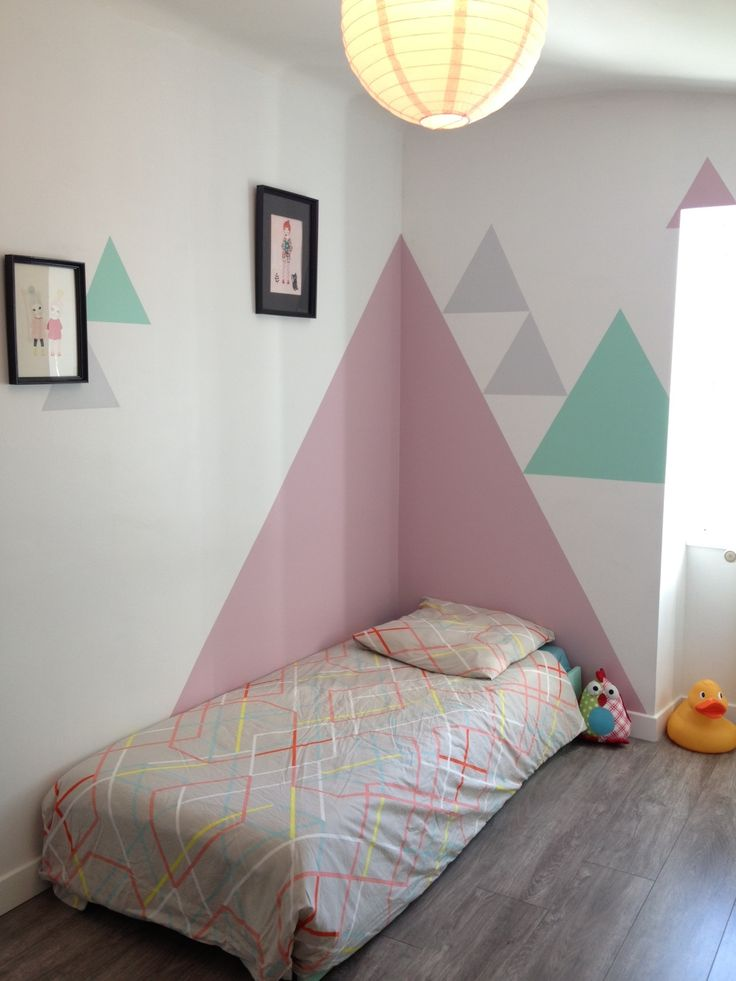 Tr jk ty na cianie hohonie bloguj - Idee peinture chambre enfant ...