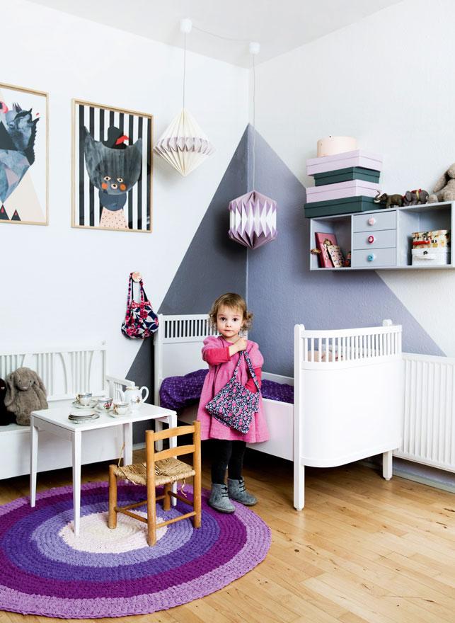 Tr jk ty na cianie pomys y i inspiracje hohonie bloguj - Idee peinture chambre garcon ...