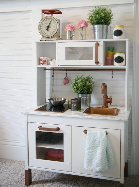 10 IKEA hacks kuchni DUKTIG • Pomysły i inspiracje • Hohonie blogują -> Ikea Kuchnia Dla Dzieci Drewniana