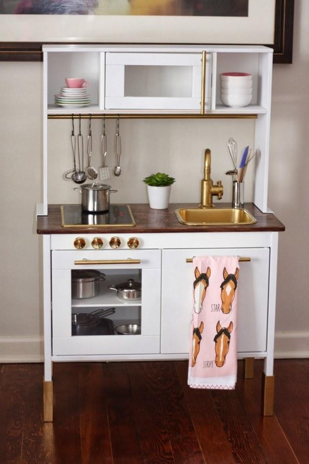 10 IKEA hacks kuchni DUKTIG • Pomysły i inspiracje   -> Kuchnia Ikea Dzieci