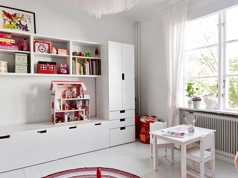 7 Inspiring Kid Room Color Options For Your Little Ones: System Stuva Z Ikei • Hohonie Blogują